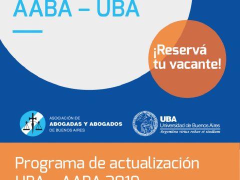 Posgrados 2019 AABA - UBA